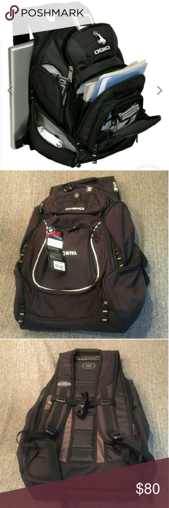"OGIO ""MASTERMIND"" BackPack NWT this back pack is a virtual storage room with backpack straps and is outfitted with no less than 10 Pockets including dedicated storage for laptops vertical files Tech accessories plane tickets and audio gear. OGIO Bags Backpacks"