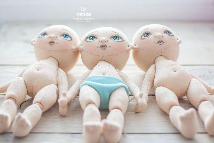 Три сестры, авторские куклы ручной работы от Наташи Исенбаевой / Текстильная кукла своими руками из ткани / Бэйбики. Куклы фото. Одежда для кукол