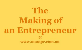 The Making of an Entrepreneur series