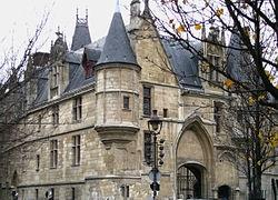 Haussmann's renovation of Paris - Wikipedia, the free encyclopedia; Hôtel de Sens, Le Marais