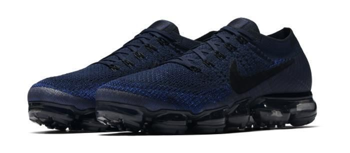 Nike Air VaporMax Flyknit Blue 849558 400 Men' Running Shoes