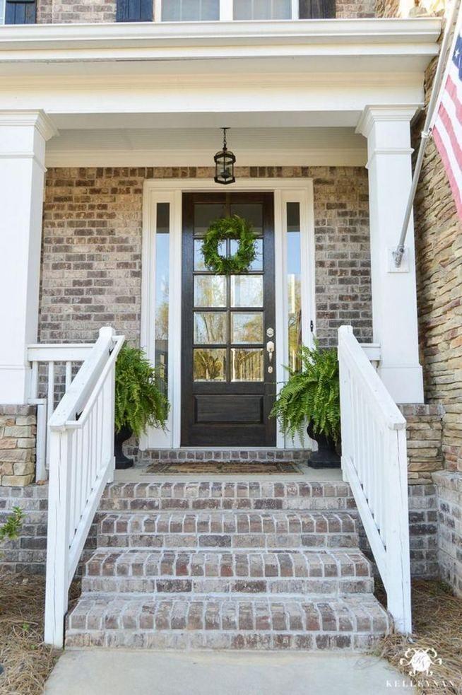 24 Adorable Brick House Exterior Makeover | Home exterior ...