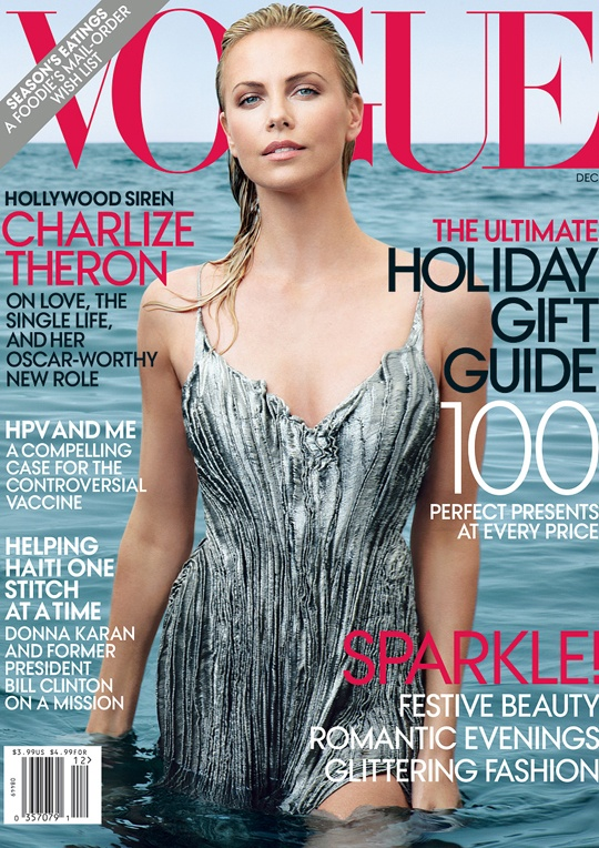 the hot mess corner: Charlize Theron portada de Vogue