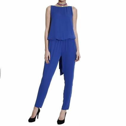 We are crushing on our Hanita drape jumpsuit!