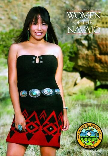 Classic - 2009 Woman of the Navajo Calendar