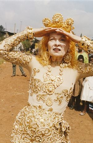 """Vivienne Westwood """"What I remember as a child is that other kids didn't care about suffering. I always did."""""""