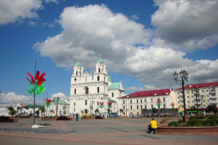 Soviet Square, Grodno