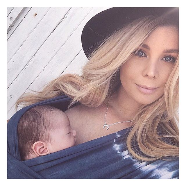 sheridynfisher . When baby bear was only 1 month old and on his first beach adventure