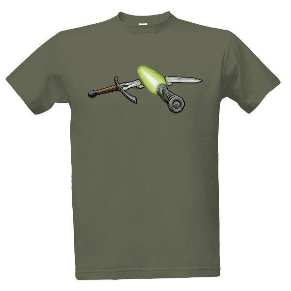 Tričko s potiskem 2 Generace - Pánské