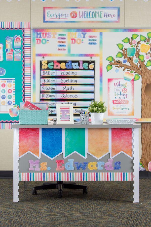 Watercolor Classroom Decorations Watercolor Classroom Classroom