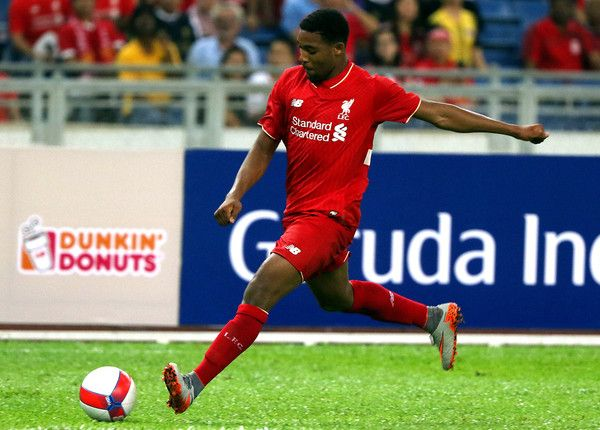 Jordon Ibe of Liverpool FC in action during the international friendly match between Malaysia XI and Liverpool FC at Bukit Jalil National Stadium on July 24, 2015 in Kuala Lumpur, Malaysia.