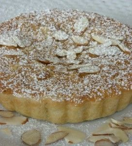 Bakewell Tart - Almond and Jam...what a great English treat!