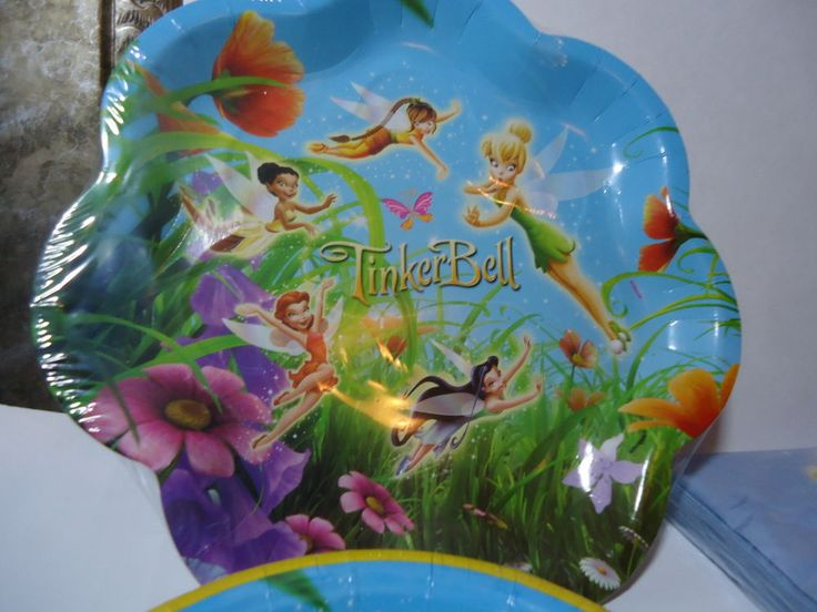 Disney Fairies Tinkerbell Party Supplies Kit Birthday Multi-Color #Unique #BirthdayChild