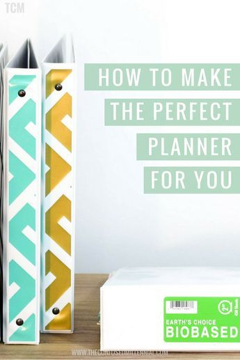 How to customize and make the perfect planner of your dreams for you and all of your responsibilities - The Confused Millennial planner hacks