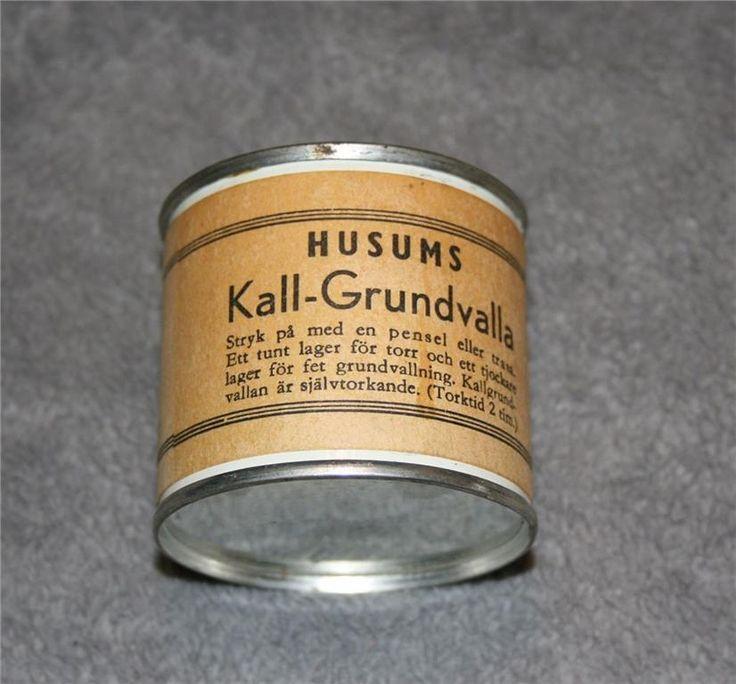 Husums Grundvalla oöppnad och användbart nostalgi valla på Tradera.com -