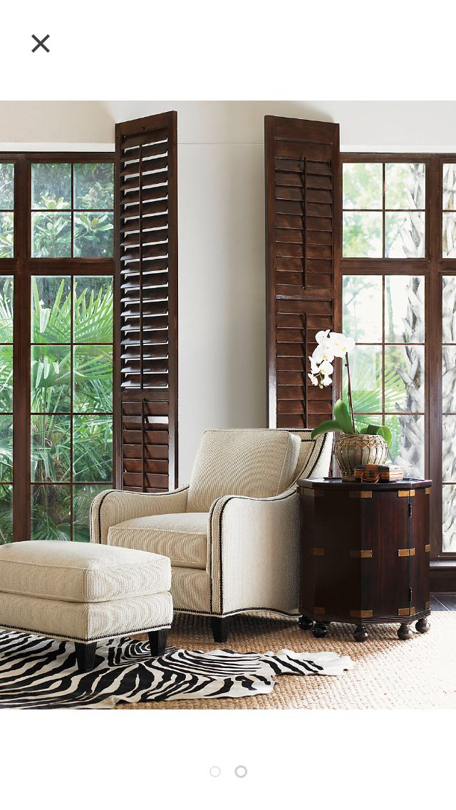 21 best british colonial interior doors images on - Shutters for decoration interior ...