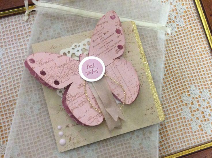 Butterfly Birthday Card!