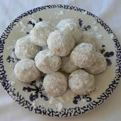 Kourambiedes (Greek Christmas biscuits) @ allrecipes.co.uk