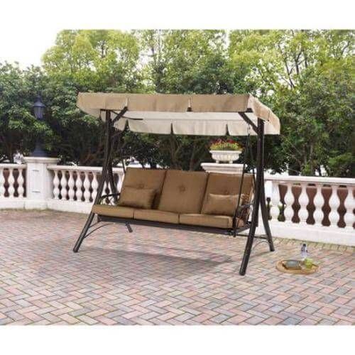 Outdoor Converting Swing Seats 3 Canopy Hammock Furniture Backyard Porch NEW  #1