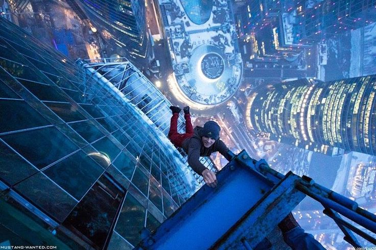 People On The Edge - Photos That Will Make You Sweat #people