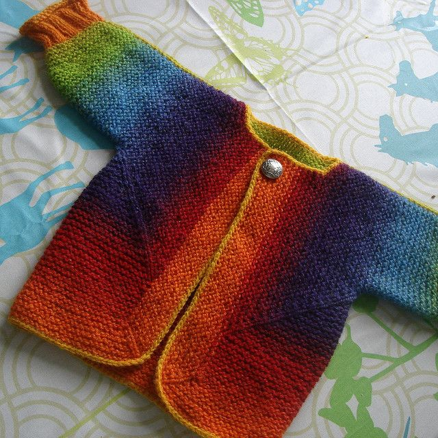 Ravelry: JuliaZahle's Baby Surprise Jacket