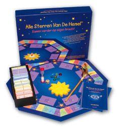 Bordspel: Alle sterren van de hemel is een therapeutisch bordspel dat speciaal is ontwikkeld voor therapeuten en hulpverleners die werken met mensen die een dierbare hebben verloren door overlijden. Het doel is om de communicatie te bevorderen na het verlies.