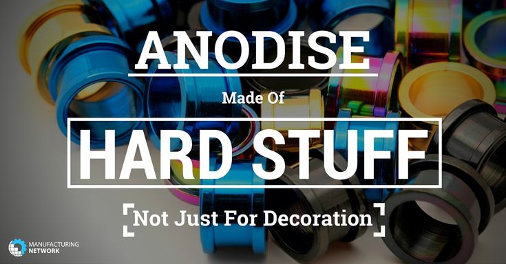 What is Anodising?  Anodising is used to increase surface hardness, wear resistance and dielectric strength of metals such as Aluminium, Titanium and Magnesium. Anodising can also provide a good base for painting or colouring, creating an extremely stable but porous oxide layer on the surface of the metal.And there you were thinking it was a decorative finish! Read more...