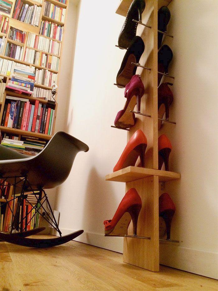 les étagères à chaussures Of le dahé sur withalovelikethat.fr