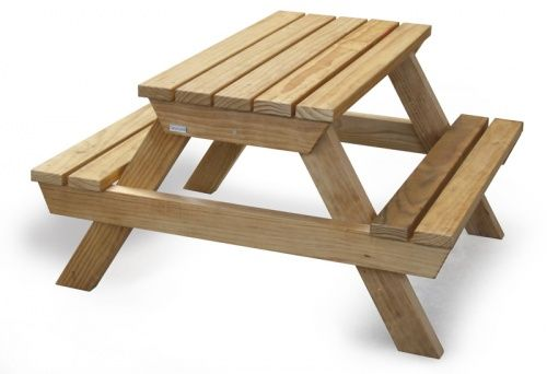 Toddler sized bbq table