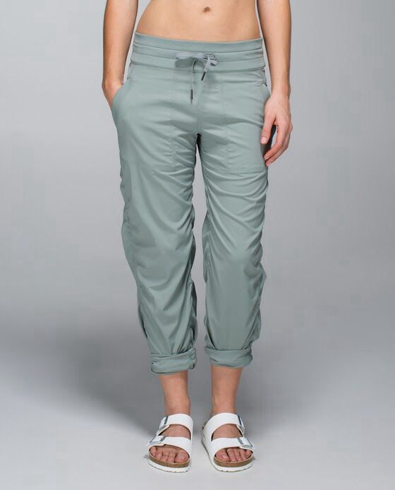 LuLu Lemon unlined Studio Pants...I have these and they are SO comfortable