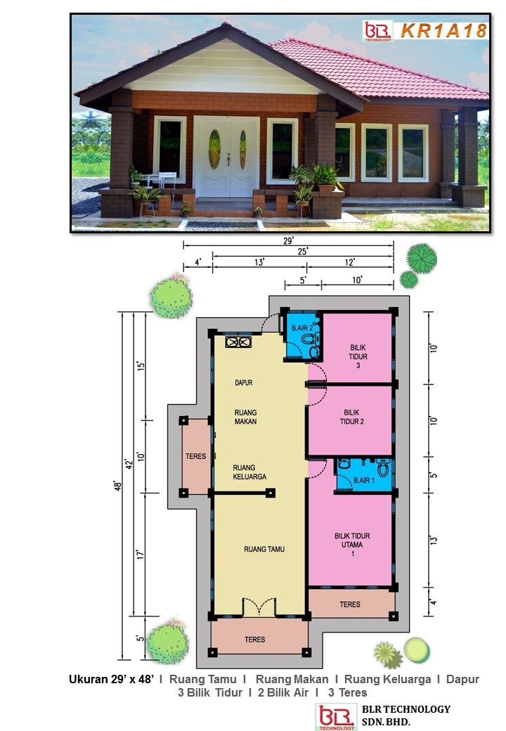 17 Best Images About Pelan Rumah IBS On Pinterest House