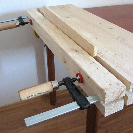 Portable Workbench and Planing Board