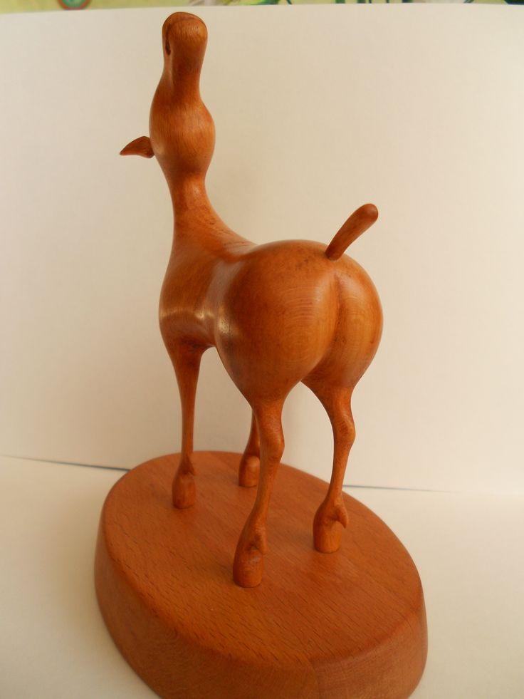 Лошадка. Вид сзади. Вдохновил Даши Намдаков. Посмотрите его работы.
