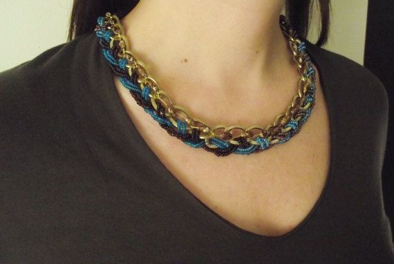 Necklace by MaryLooGifts on Etsy