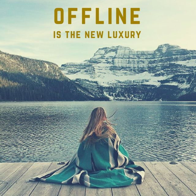 Travel Life Insurance Quotes: Offline Is The New Luxury. Click On This Image To See The