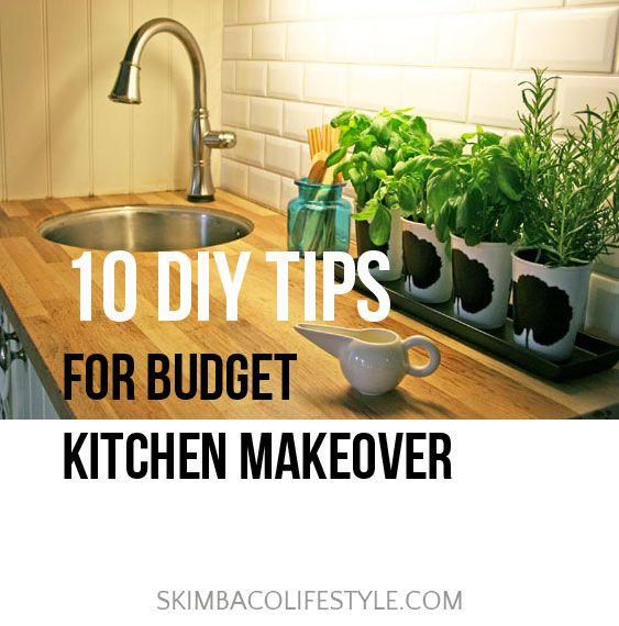 Budget kitchen makeover ideas via @Skimbaco Lifestyle (Skimbacolifestyle.com)