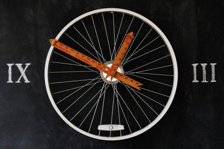 Eine Linkliste mit verschiedenen Upcycling Projekten, von der Fahrrad Uhr von bauen.de über Paletten-Möbel zu schönen Ideen aus alten Büchern.