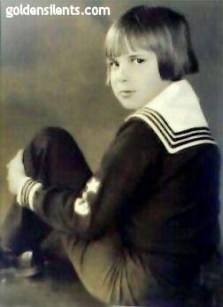 Silent movie star Jackie Coogan - Golden Silents