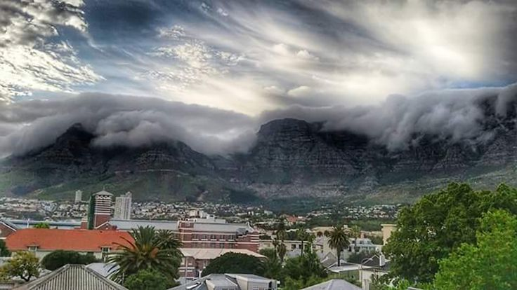 Scary Clouds by Liza Vaun Bezuidenhout