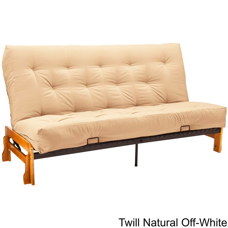 ... Small Futon And Futon Chair Bed. EpicFurnishings 8 Inch Loft Twin Size  And Full Size Cotton/ Foam Premiere