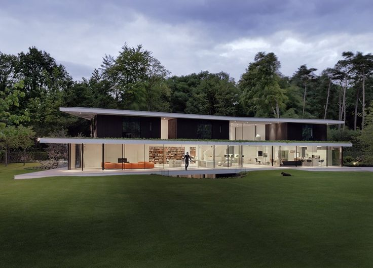 Powerhouse Company together with RAU have completed Villa L, near Utrecht in The Netherlands.