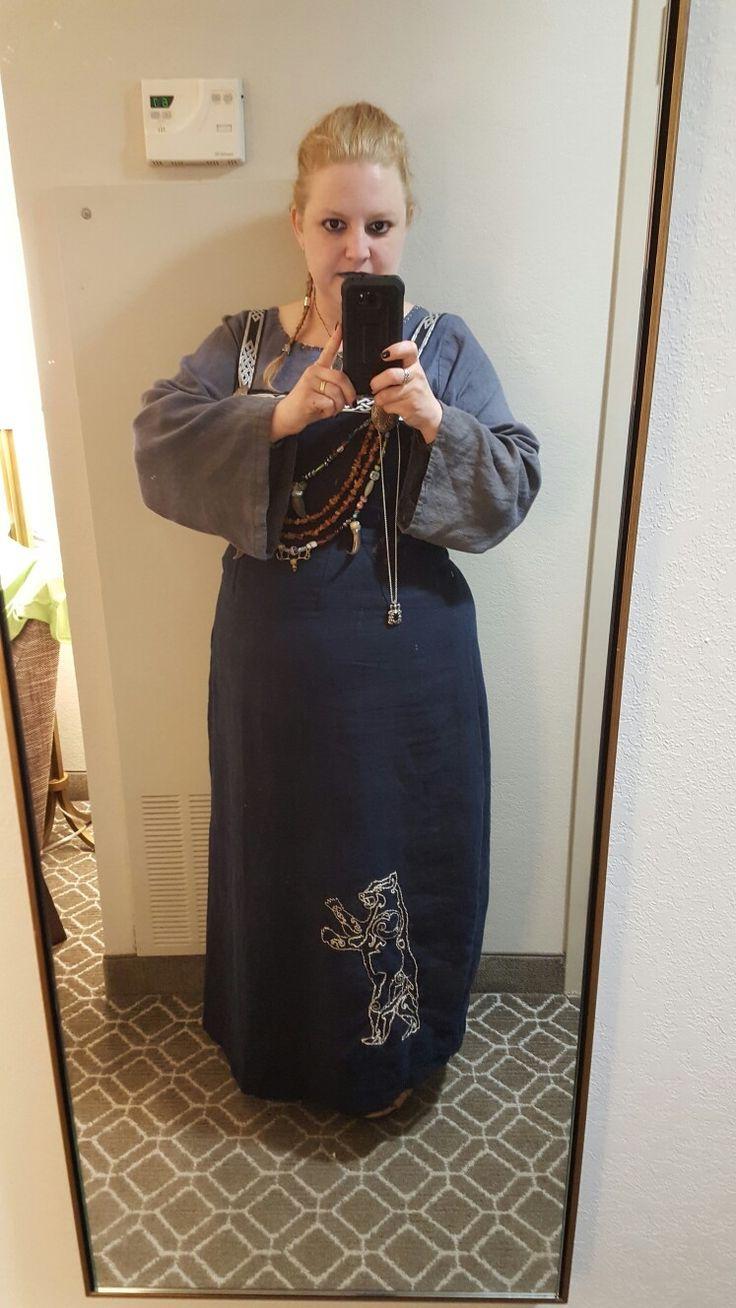 Apron Dress made by Amanda Hall