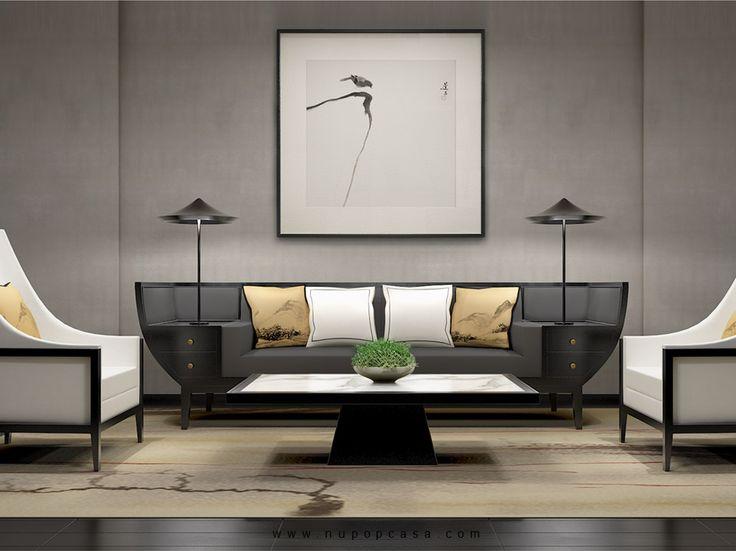 Love this couch interior design for Asiatische einrichtung wohnzimmer