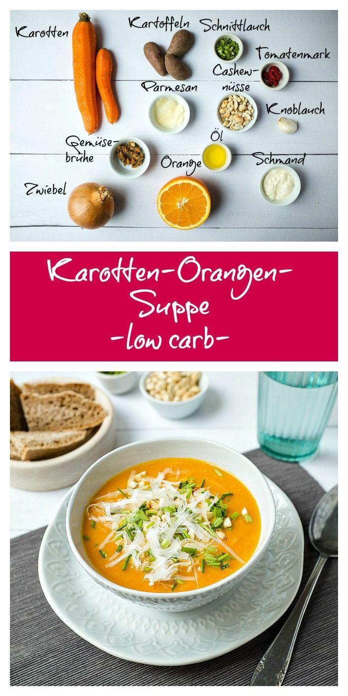 #Suppe #schnell #einfach #lecker #gesund #orangen #möhrensuppe