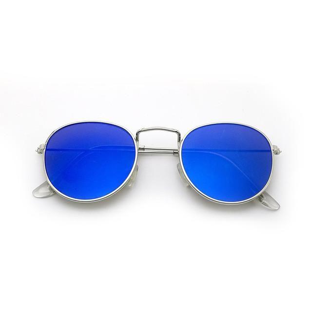 2017 retro round sunglasses women men brand designer sun glasses for women's Alloy mirror sunglasses lentes female oculos de sol - 10 MINUS