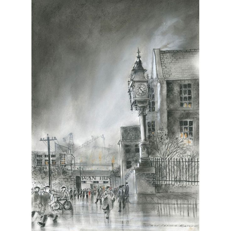Swan Bank 2 signed limited edition print by Roy Francis Kirton