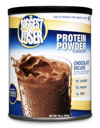 DESIGNER WHEY The Biggest Loser Protein Powder Supplement, Chocolate Deluxe, 10-Ounce Canister - http://www.gainmusclefastnow.com/designer-whey-the-biggest-loser-protein-powder-supplement-chocolate-deluxe-10-ounce-canister/