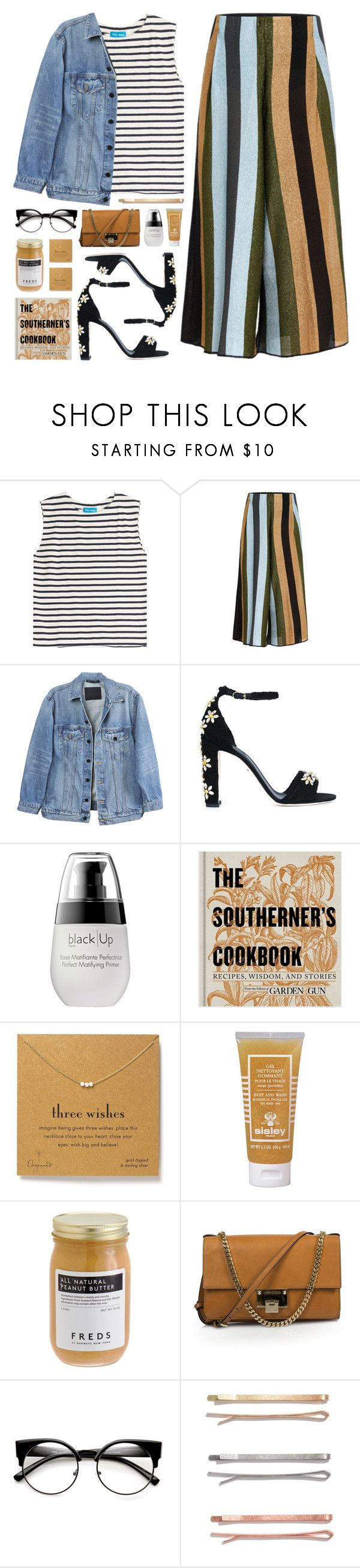 """""""Lost Hollywood Dreams"""" by fyenksfiona ❤ liked on Polyvore featuring M.i.h Jeans, Circus Hotel, Y/Project, Dolce&Gabbana, Draper James, Dogeared, Sisley Paris, FREDS at Barneys New York, Jimmy Choo and Madewell"""