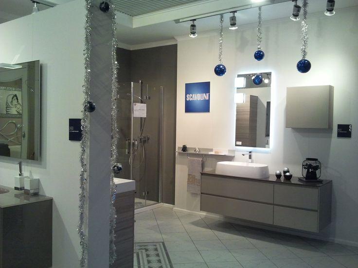 ...Un Natale più BLU con la nuova collezione bagni SCAVOLINI #scavolini #bathrooms #design