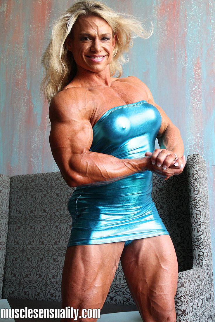 Muscle Girl Fucking Well